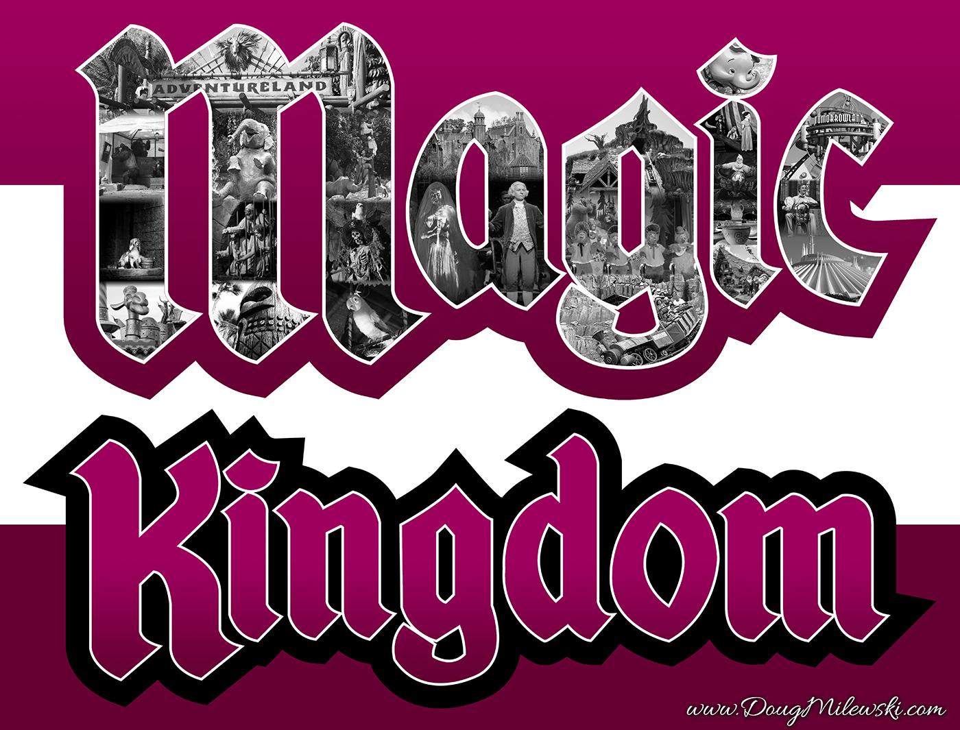 Magic Kingdom Logo Wdwmagic Unofficial Walt Disney World
